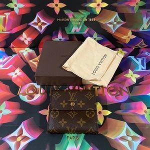 💞💞💞Authentic Louis Vuitton Women's Short Wallet